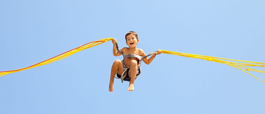 A baby takes steps to turn into a toddler. You can use your bucket list to change your life.