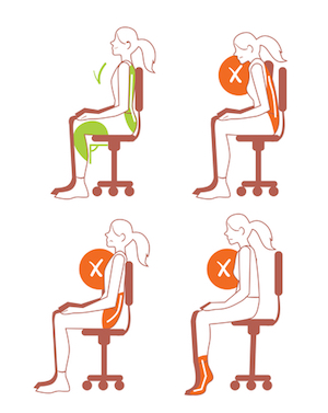 Correct sitting positions to prevent back pain and live a longer life