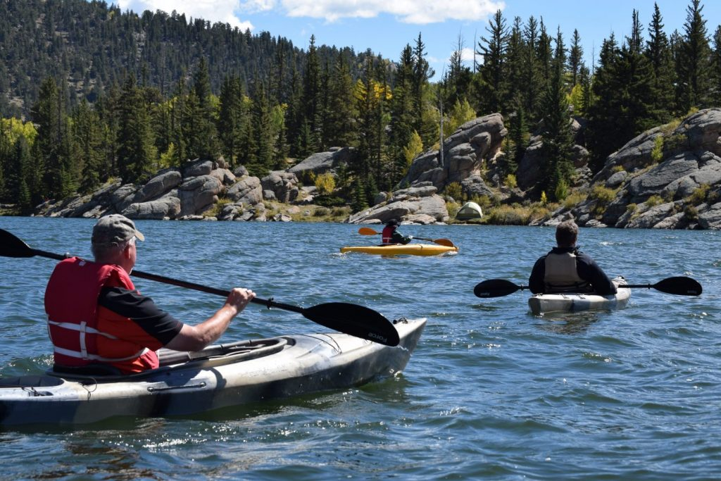 Canoeing can be an exciting but cheap holiday