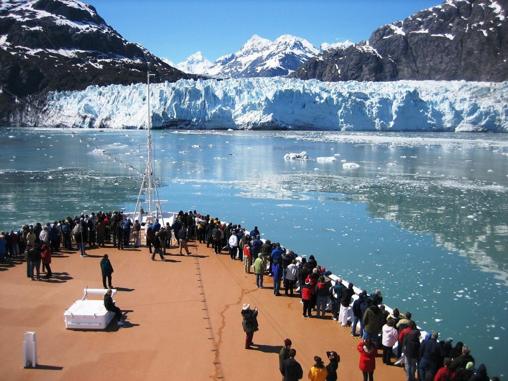 Shows ability to undertake adventures such as visiting the Arctic when with a group