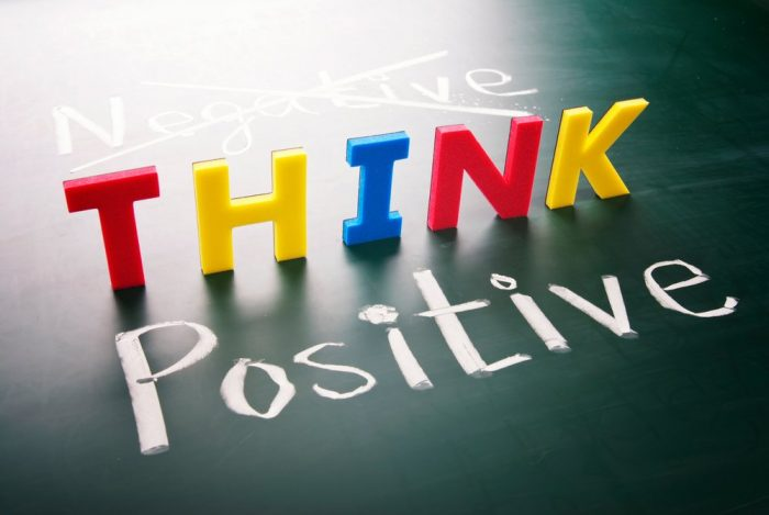positive thinking sets off positive results