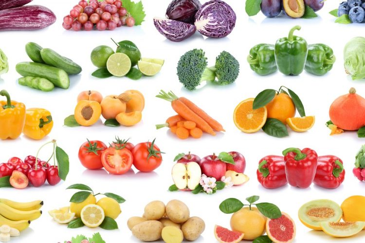 illustration of plant foods for the fruit and vegetable challenge