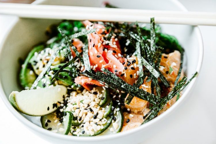 To illustrate lovely meals from algae eaten for fruit and vegetable challenge