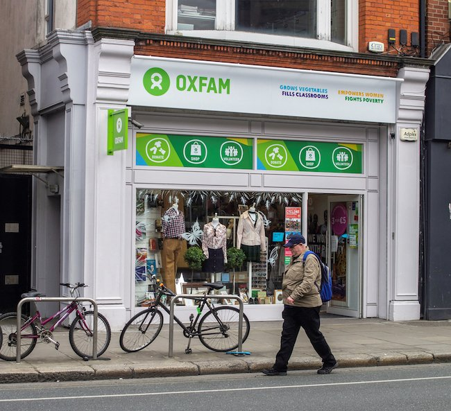 Working in a charity shop in retirement helps build community