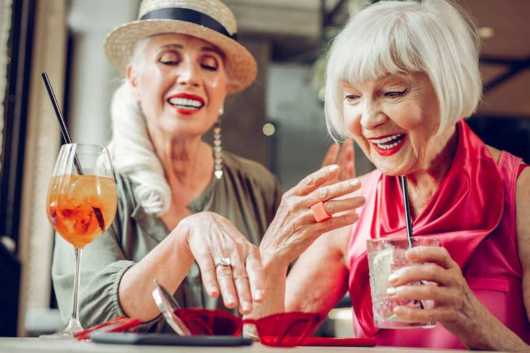 Fashion fun for Over 50s