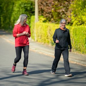 Walking tips help these ladies and you to get out and go walking