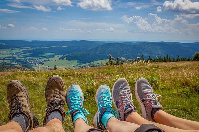 Choosing comfy, fun shoes for walking